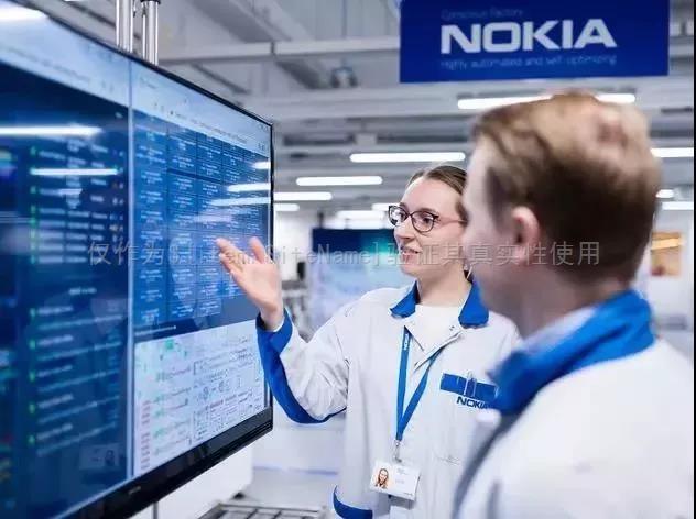 诺基亚未来工厂采用5G和RFID的技术