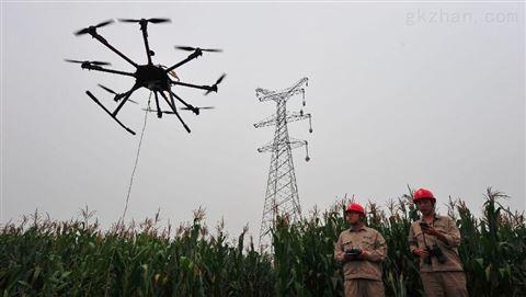 6轴电力架线无人机