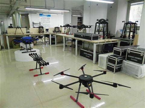 8轴电力架线无人机
