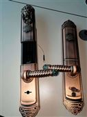 指纹锁家用防盗门锁大门木门铁门铜门锁