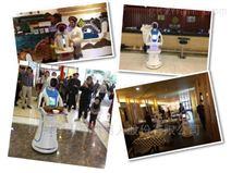 安徽鳳陽山質公園博物館迎賓語音導覽機器人