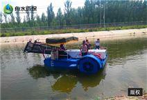 割草船报价 机械打捞船定做 水草清洁船厂家