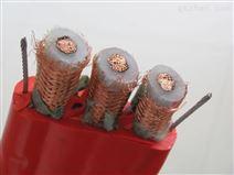 扁平電纜YFFB-G3*4+6*1.5帶照片鋼絲扁電纜