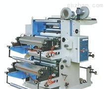 双色印刷机 经济环保型 PE、BOPP、OPP、PET、PA薄膜