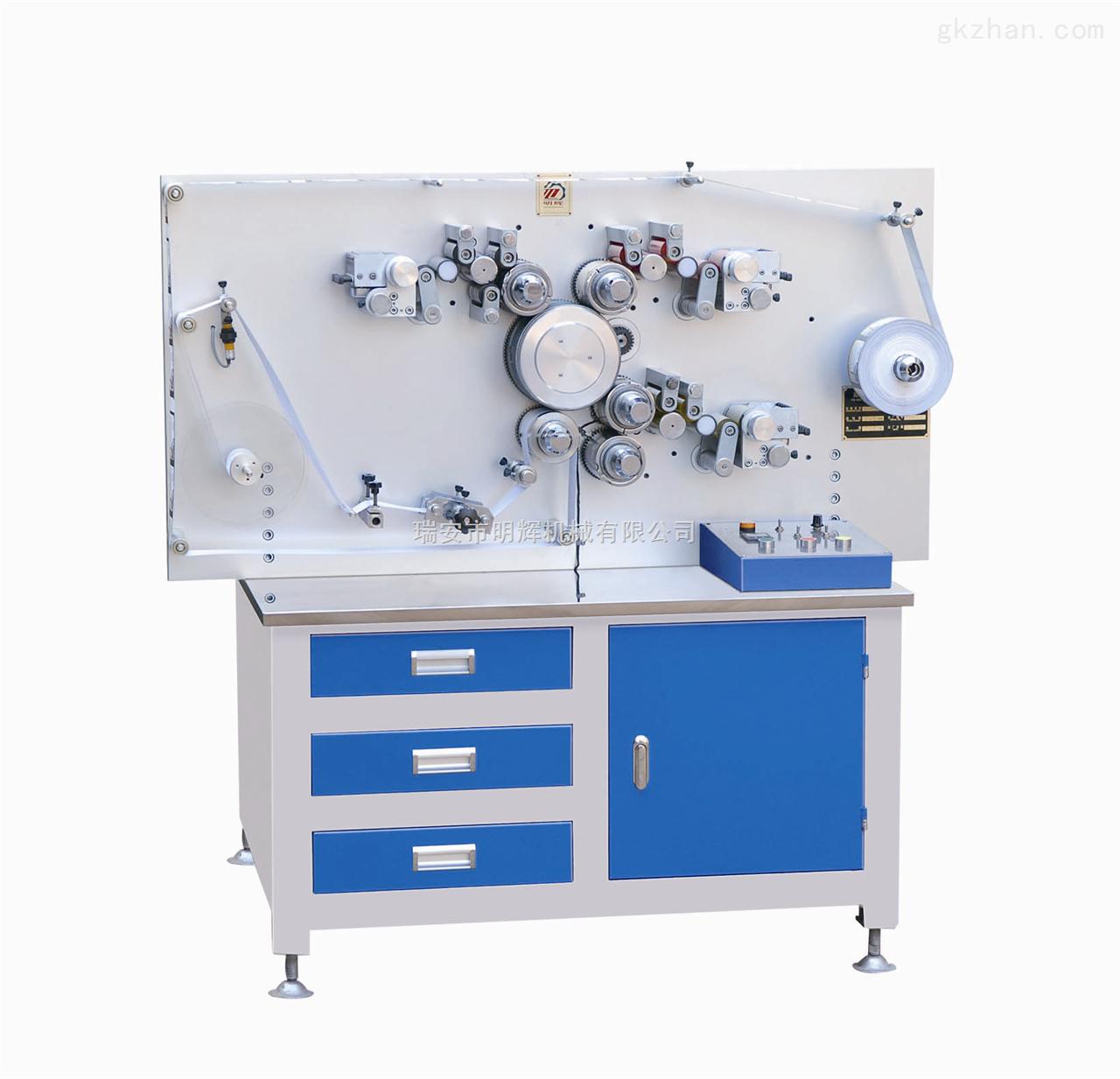 MHL-1003S三色双面高速轮转商标印刷机