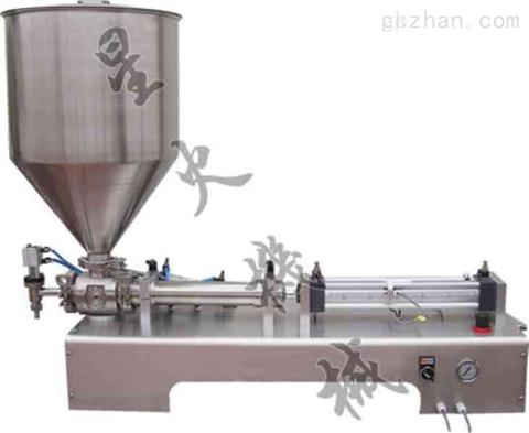 广州星火膏体灌装机