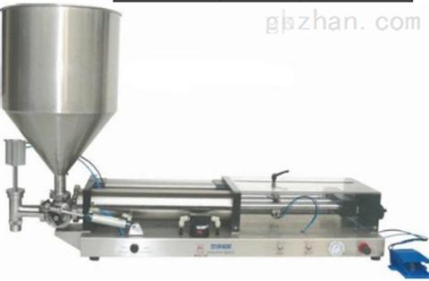 双头膏体灌装机/广州自动灌装机