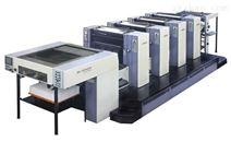 对开四色胶印机