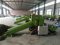 農用高效全自動青貯打捆包膜機