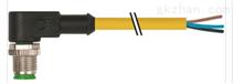 黄颜色MURR穆尔连接器带电缆套管