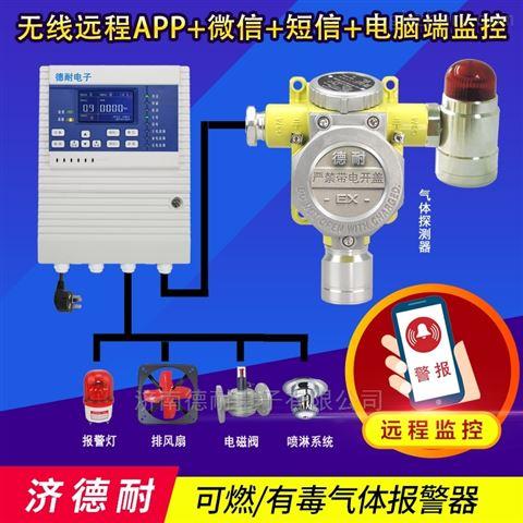 化工厂仓库松节油气体泄漏报警器,无线监控
