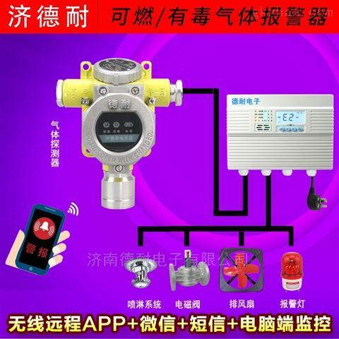 化工厂仓库油漆气体报警器,联网型监控