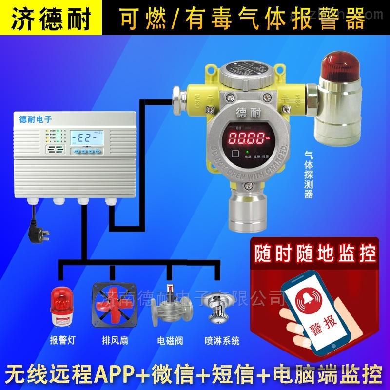固定式甲烷红外检测报警器,云监控