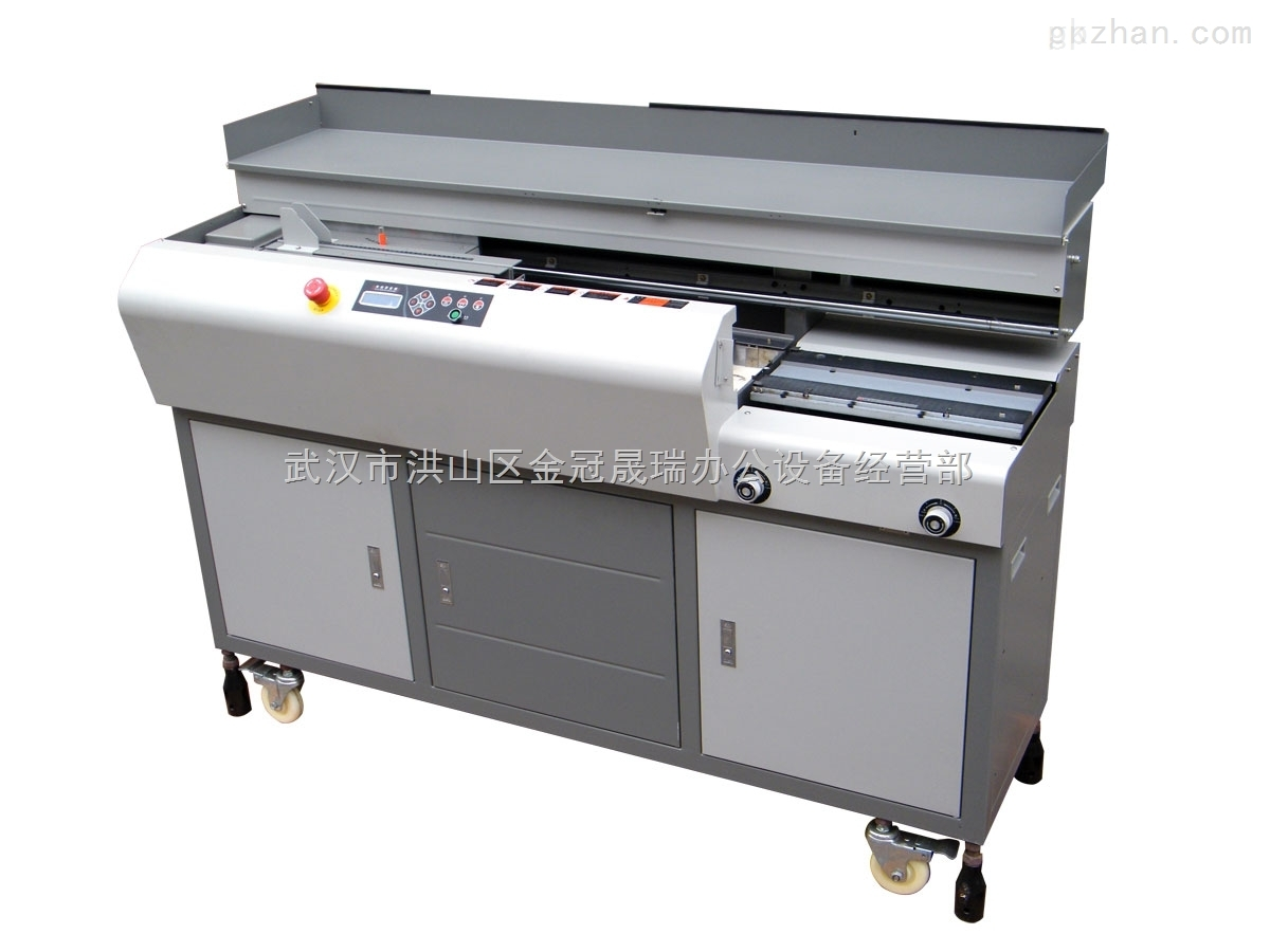 誉冠FS-6080专业高速重型侧胶型,制本机,胶订机,厂家直销