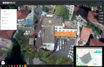 伯镭无人机城市管理屋顶违建排查系统