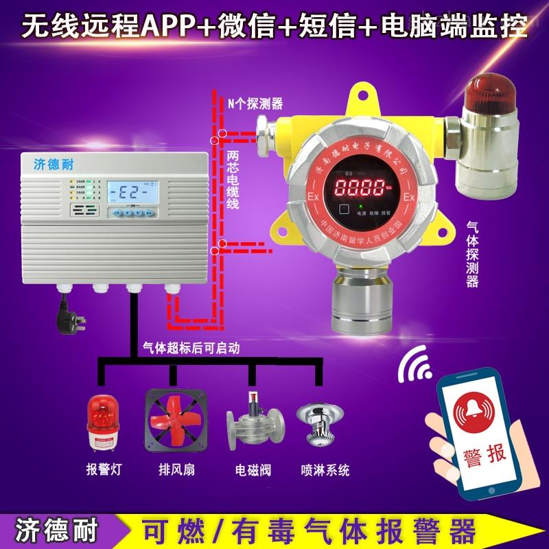 防爆型氯甲烷泄漏报警器,APP监测