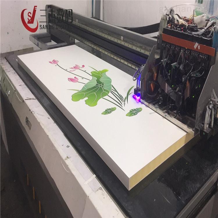 木塑板8d万能uv平板印花机设备