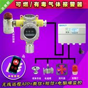 化工厂仓库溶剂油浓度报警器,可燃气体报警器