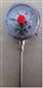 径向型可动外螺纹电接点式双金属温度计