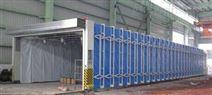 環保伸縮噴漆房噴漆行業專用伸縮房