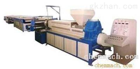 塑料扁丝拉丝机1