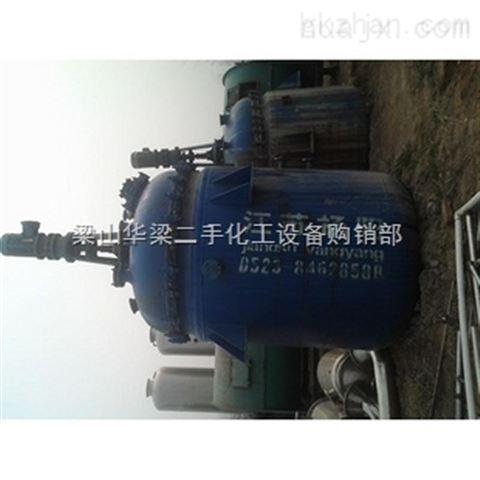 供应二手搪瓷反应釜 二手6.3吨搪瓷反应釜价格