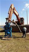 野外施工不用电力挖机液压污泥泵,渣浆泵,