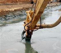 湖底海底专用挖机液压清淤泵,污泥泵