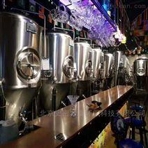 两锅三器2000升蒸汽加热精酿啤酒设备报价