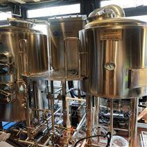 沧州1000升德国精酿啤酒设备厂家供应