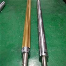 涂布黏胶薄膜复卷机气胀轴气涨轴配件加工
