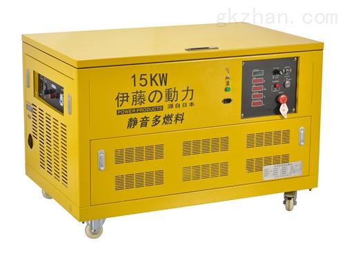 伊藤厂家直销YT15RGF别墅备用汽油发电机
