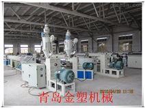 PVC管材生產設備 PVC一出四穿線管生產線