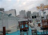 西安户外餐饮店喷雾降温加湿系统