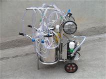 移動式雙桶活塞擠奶機