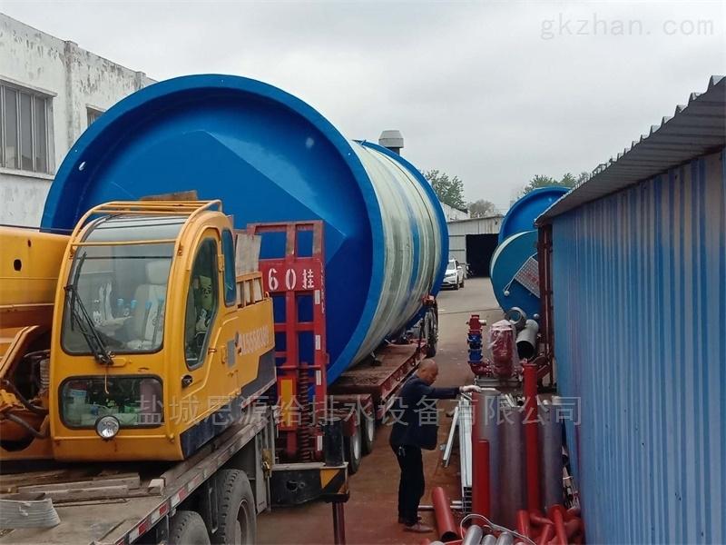 3.8米一体化污水预制泵站长期供应