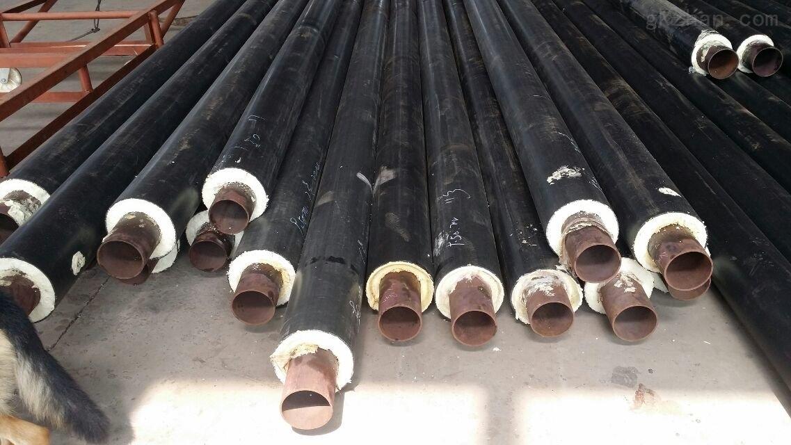 江苏盐城聚氨酯预制直埋、塑套钢保温管
