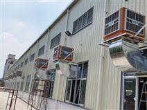 深圳某五金廠車間通風降溫案例
