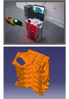 三维扫描服务,3D激光扫描测量