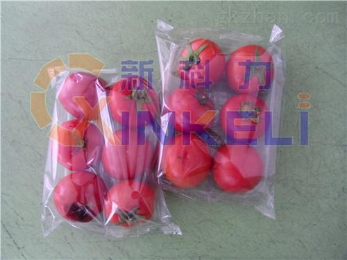 多个番茄包装机,西红柿带托盒包装机
