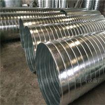 南庄通风管道生产厂家镀锌螺旋风管安装价格
