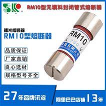 RM10 6-15A 250V 无填料封闭管 低压熔断器