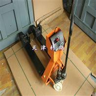 YCS-3T滨州2500千克电子叉车秤,3吨带打印叉车磅
