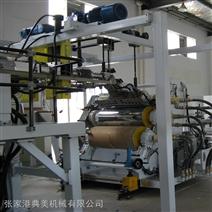 PVC宽幅塑木片材生产线