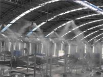 煤场高压喷雾除尘机