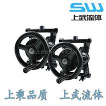 QBS-50型手动隔膜泵 地下室备用排污手摇泵