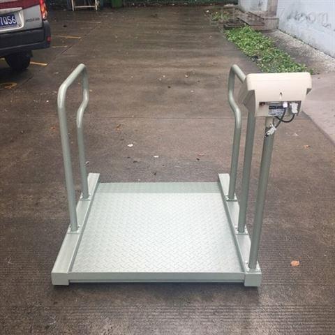 200公斤轮椅透析秤医疗器械电子秤扶手地磅