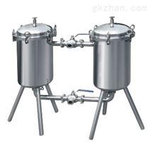化工衛生食品衛生級雙筒過濾器涂料油漆過濾