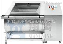 单斗自动翻转洗菜机 蔬菜自动清洗机