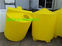 河南1立方塑料储罐 食品级耐酸碱搅拌桶 pe加药箱